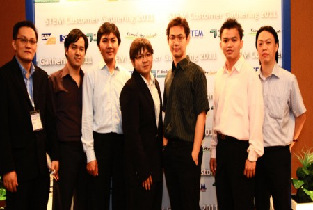 STEM - Team at Customer Gathering 2011