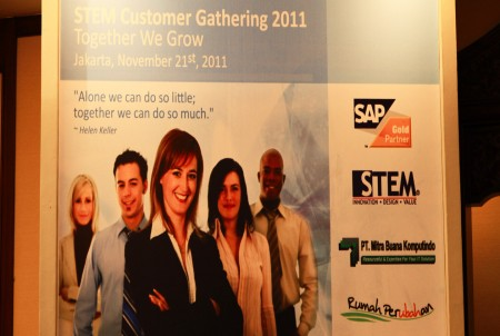 STEM Customer Gathering 2011 - Together We Grow