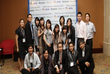 STEM with Team and Founder at Customer Gathering 2011