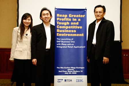 event 2008 - launch of sap business one with ireap add on