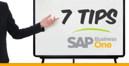 Top 7 Tips SAP Business One dari SAP Indonesia Gold Partner
