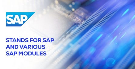 Stands for SAP and Various SAP Modules