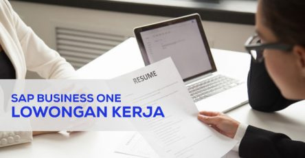 lowongan sap business one