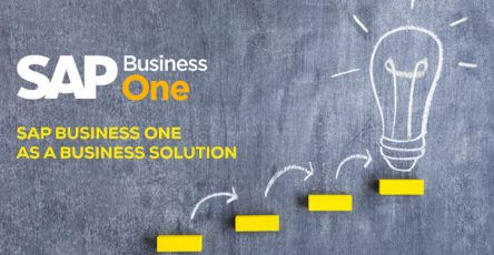 sap business one as a business solution