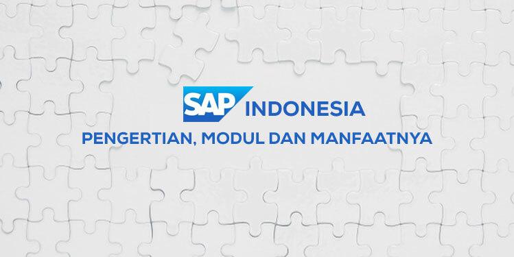 sap indonesia pengertian modul dan manfaatnya