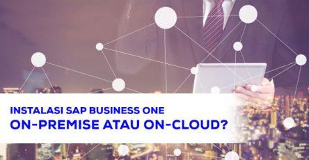 Instalasi SAP Business One On Premise atau On Cloud