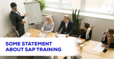 Some Statement About SAP Training