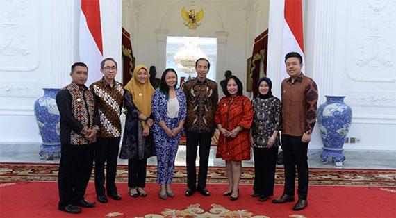 ireap pos dan ketua umum akumandiri bertemu dengan Presiden Jokowi Masukan Kemajuan UMKM Indonesia