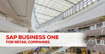 SAP Business One Solution for Retail Companies
