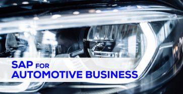 sap for automotive business