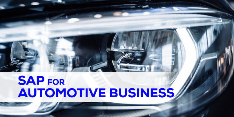 sap for automotive business