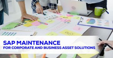 sap maintenance for corporate and business asset solution