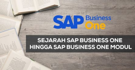 sejarah sap business one hingga sap business one modul