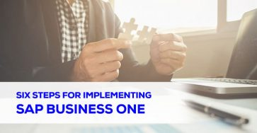 Six Steps for Implementing SAP Business One