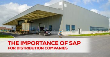 the importance of sap for distribution company