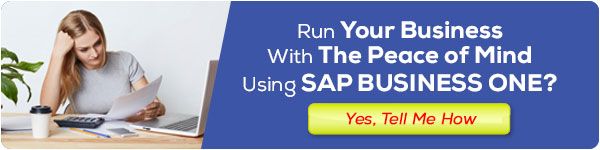 Run Your business with SAP Business One