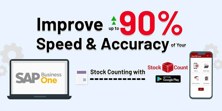app stock count to improve speed and accuracy in sap business one accounting