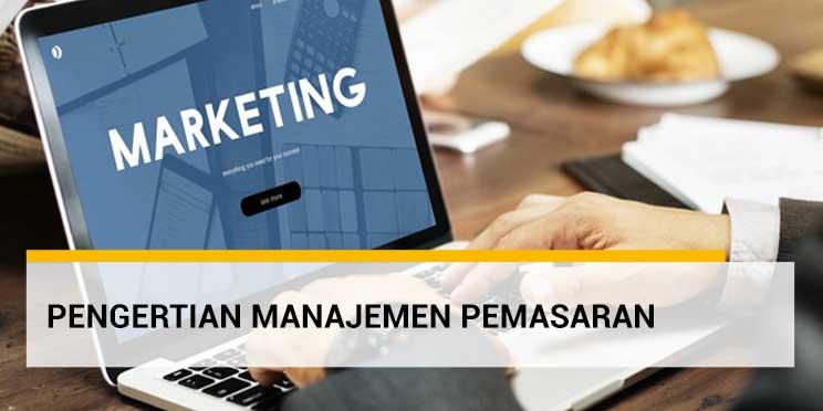manajemen pemasaran adalah