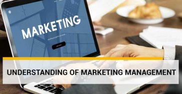 understanding of marketing management
