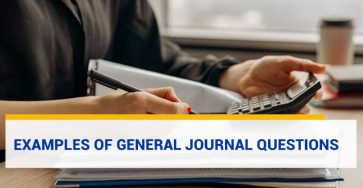 Examples of General Journal Questions
