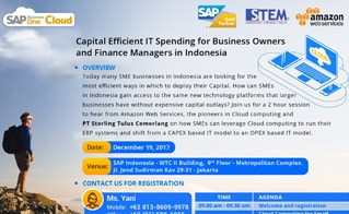 Capital Efficient IT Spending for Business Owners & Finance Managers in Indonesia