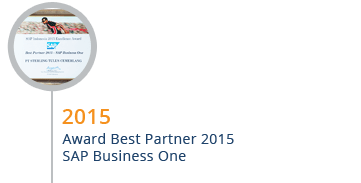 STEM Mendapatkan Award Best Partner SAP Business One 2015