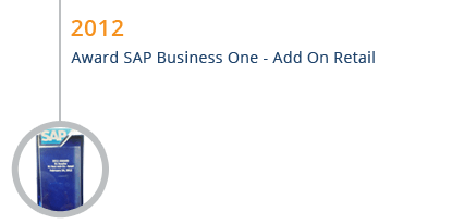 STEM Mendapatkan Award SAP Business One Add on Retail