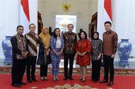 STEM Andy Djoyo Budiman & Ketua Umum Akumandiri Bertemu Presiden Jokowi Memberikan Masukan Untuk Kemajuan UMKM Indonesia