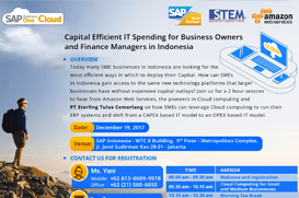 STEM SAP Business One Hana Cloud - Seminar Amazon Web Services