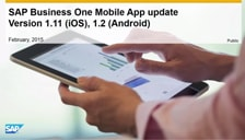 SAP Business One Sales for ios and android
